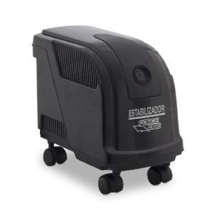 Estabilizador Evolution III Bivolt 1000VA Preto Forceline